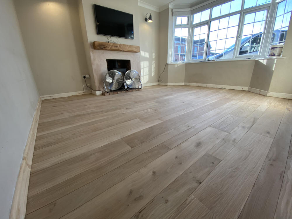 Freshwoods Floor Fitting in Bawdrip, Somerset