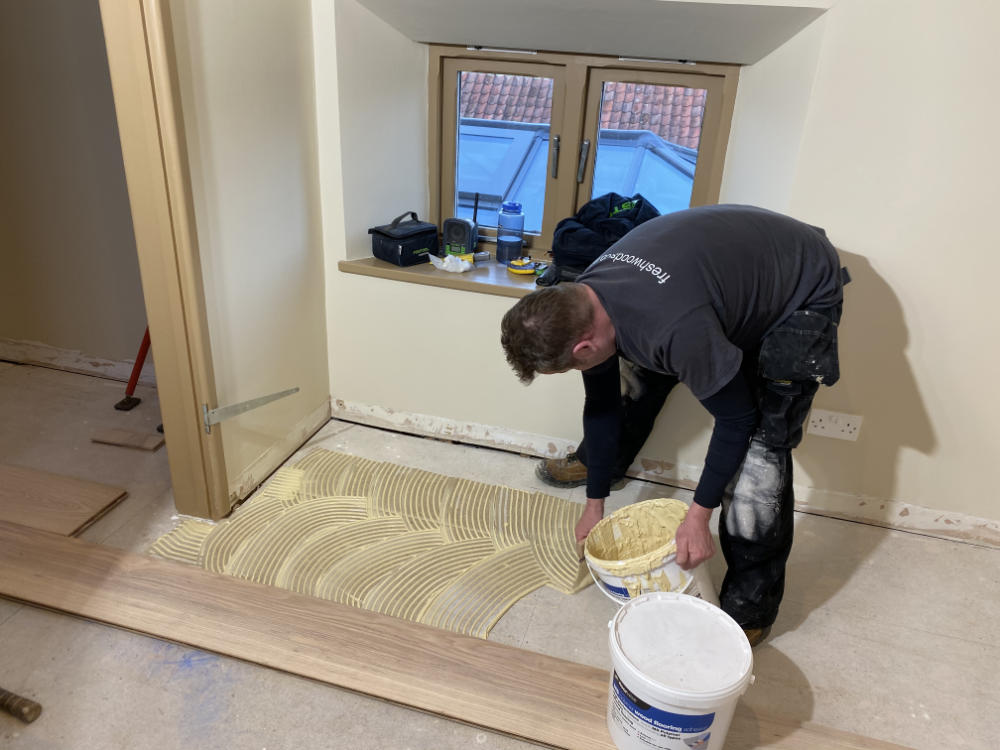 Freshwoods Floor Fitting in Edington, Somerset