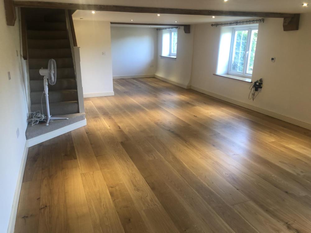 Freshwoods Floor Restoration in Bickenhall, Somerset