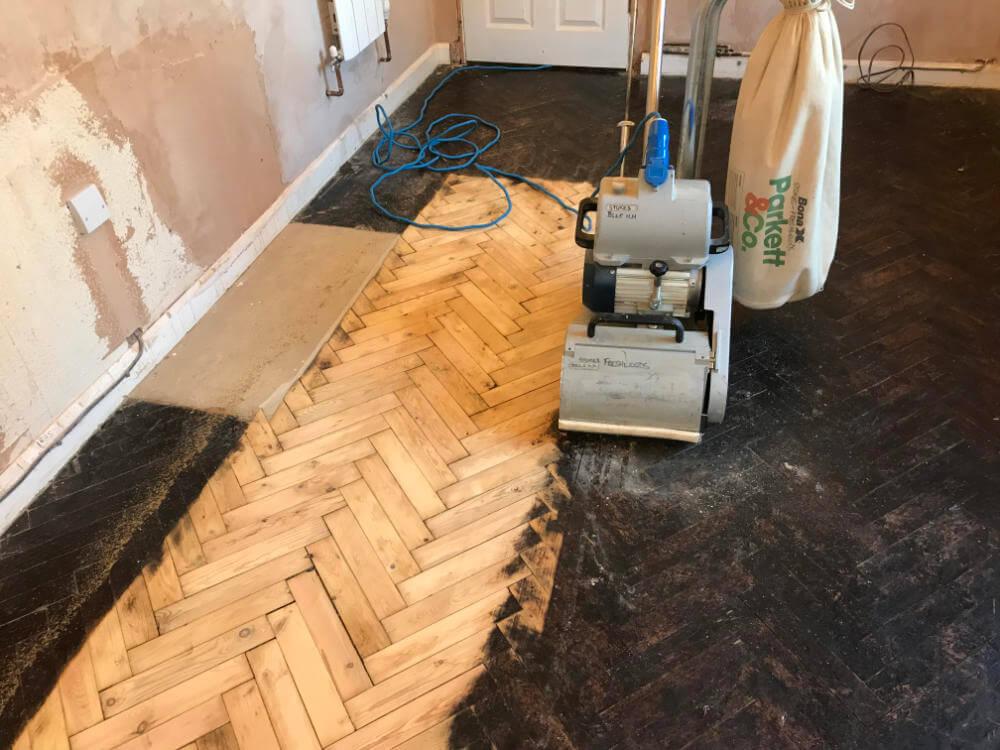 Freshwoods Floor Restoration in Cheddar, Somerset