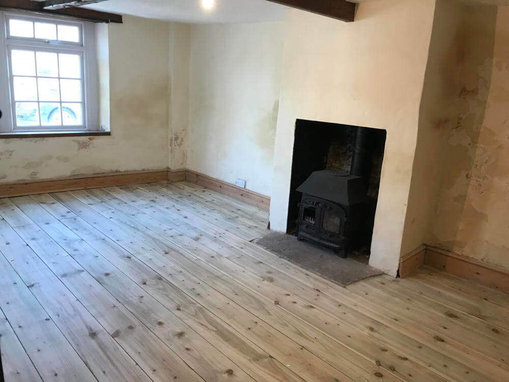 Freshwoods Floor Restoration in Puriton, Somerset