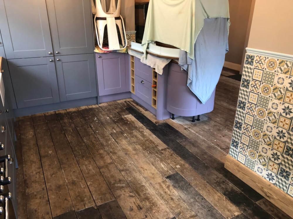 Freshwoods Floor Restoration in Worle, North Somerset