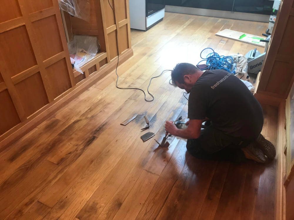 Freshwoods Floor Restoration in Woolavington, Somerset