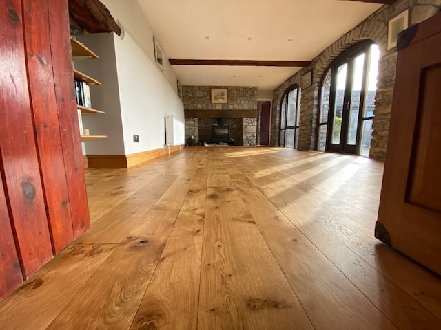 Freshwoods floor restoration