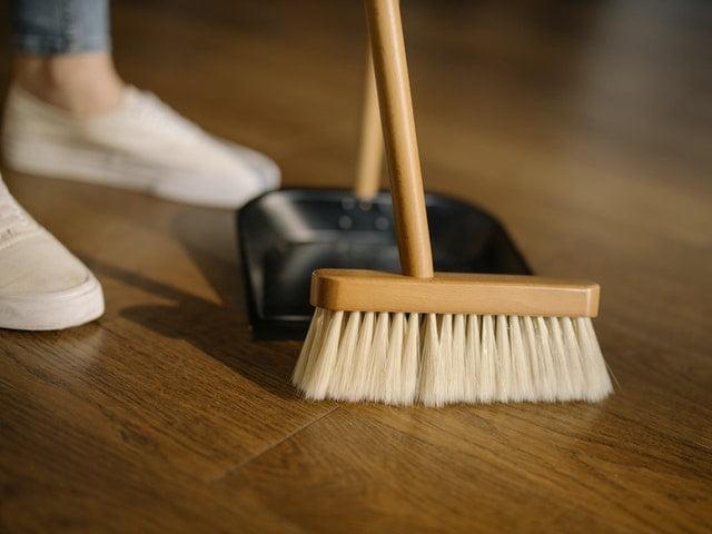 Freshwoods Maintain Wood Floor Broom